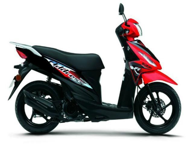 Suzuki Address mới giá 35,7 triệu đồng, sánh cạnh Honda Vision