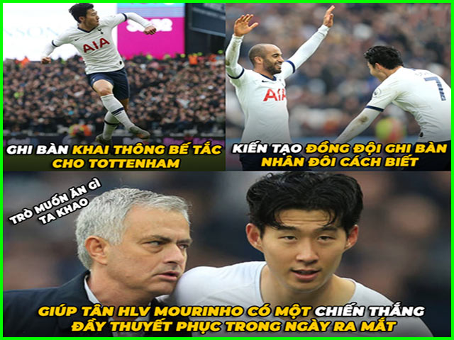 Tottenham thăng hoa trong ngày Mourinho trở lại Ngoại hạng Anh