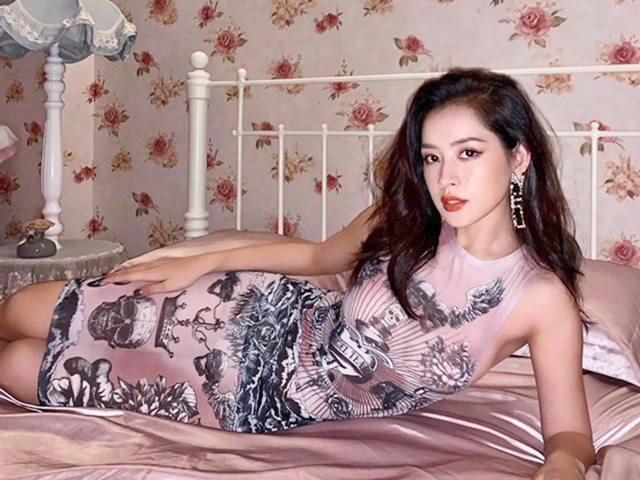 Chi Pu được khen đẹp rất đỗi đàn bà với váy mỏng tang nhìn thấu nội y