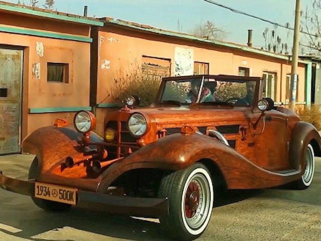 """""""Siêu xe"""" Mercedes làm bằng... gỗ có thể chạy gần trăm km/h"""