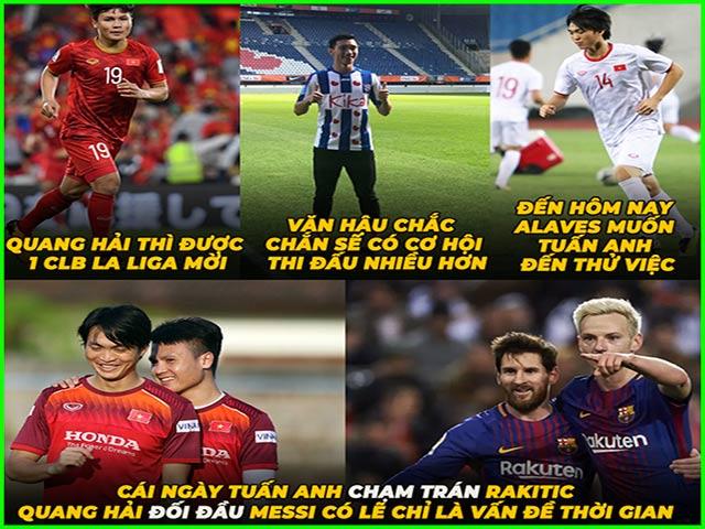 """Tuấn Anh sang La Liga, fan Việt Nam """"mơ"""" đối đầu Messi"""