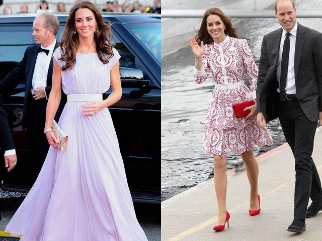 Tìm ra thương hiệu thời trang được lòng Công nương Anh nhất
