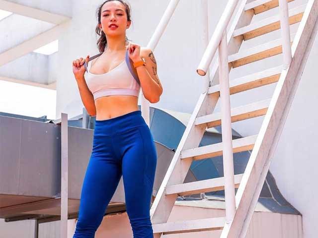 """Học cách """"nữ hoàng phòng gym"""" chinh phục mọi loại quần tập"""