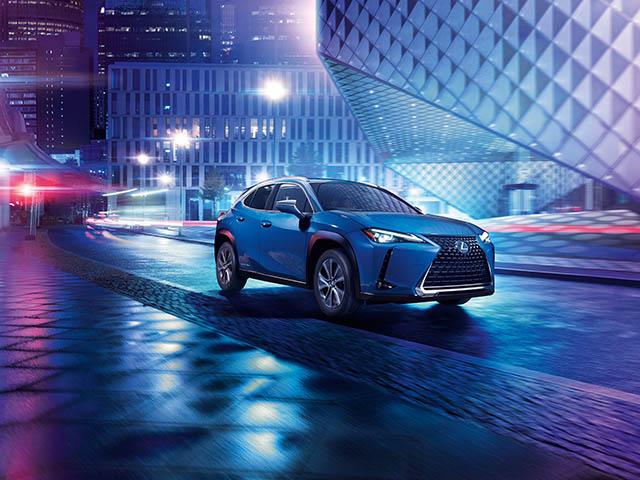 Lexus UX 300e - mẫu SUV thuần điện có công suất vận hành ấn tượng