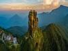Ngôi đền có tuổi đời 500 năm, phải leo 8.800 bậc thang và đi xuyên qua biển mây mới tới
