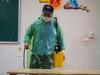 Hà Nội: Hàng loạt trường phun khử khuẩn, vệ sinh toàn bộ lớp học sẵn sàng đón học sinh