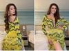 """Hoa hậu Khánh Vân lại khiến dân tình """"đứng ngồi không yên"""" với trang phục """"ruộng bậc thang"""" cực độc đáo"""