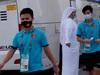 Hậu trường World Cup: Tuyển Việt Nam hùng dũng bước vào sân vận động Al-Maktoum đối đầu với tuyển Malaysia