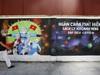 Hà Nội: Nhiều đoàn thanh niên vẽ tranh phòng, chống dịch Covid-19 thu hút người đi đường