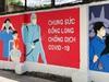 Video: Ngắm con đường bích họa tuyên truyền chống dịch Covid-19 ở Hà Nội