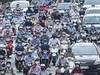 Hình ảnh một số tuyến đường ở Hà Nội đông đúc trở lại