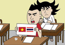Loạt ảnh chế sau chiến thắng 4.0 của tuyển U23 Việt Nam trước U23 Thái Lan