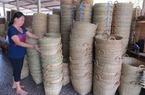 Sức sống làng nghề đan cần xé ở Long An