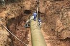 Đường ống nước sông Đà gặp sự cố, 60.000 hộ dân bị dừng cấp nước