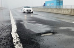 VEC vẫn chưa sửa chữa xong cao tốc Đà Nẵng - Quảng Ngãi bị sụt lún