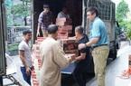 Báo NTNN/Dân Việt chuyển 1000 thùng mì tôm cứu trợ lũ tại Quảng Trị