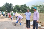 """Hiệu quả """"Ngày thứ 7 tình nguyện về cơ sở xây dựng nông thôn mới"""" ở Tân Lang"""