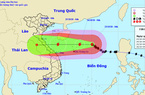 Bão số 8 đang mạnh cấp 12, giật cấp 15 nhưng khả năng suy yếu khi vào các tỉnh miền Trung