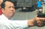 Diễn biến mới nhất vụ giám đốc rút súng dọa bắn người