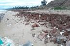 Bình Định: 1.600m kè biển Tam Quan bị hư hỏng, xói lở