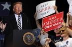 Sau ngày bầu cử, thị trường cá cược bất ngờ quay đầu cược Trump thắng lớn