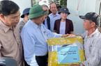Quảng Ngãi: Thủ tướng Chính phủ Nguyễn Xuân Phúc thăm người dân vùng tâm bão số 9