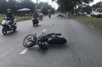 TP.HCM: Thiếu niên 17 tuổi điều khiển xe máy đâm trung tá CSGT bị thương