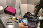 Clip nóng: Cận cảnh quá trình khám nghiệm chiếc vali chứa xác người bị chặt khúc ở Quận 7