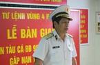 Khánh Hòa: 6 ngư dân của 2 tàu cá tỉnh Bình Định gặp nạn được đưa vào bờ