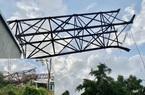 Quảng Ngãi: Quá hạn gần 6 năm không dỡ, pano của công ty Lam Nguyễn đè sập nhà dân
