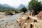 Lào Cai: Xót xa, sau lũ, hàng chục tấn cá trôi mất sạch, ao thành lòng suối sâu