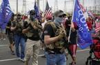 Bồng súng biểu tình trong những ngày bầu cử Tổng thống Mỹ