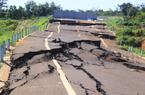 Khởi tố vụ đường tránh 250 tỷ đồng bị sụt lún như động đất
