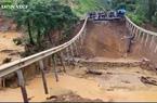 Do mưa lớn sạt lở, đoạn Quốc lộ 26 nối Đắk Lắk - Khánh Hòa bị tê liệt