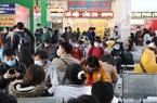 Ngày làm việc cuối cùng của năm, bến xe vắng khách về nghỉ Tết Dương lịch