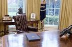 Mỹ chuyển giao quyền lực: Tổng thống từng rời khỏi thành phố, gửi thư cho người kế nhiệm