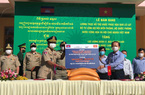 Tặng 100 tấn gạo cho lực lượng quản lý, bảo vệ biên giới Campuchia