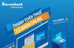 Khách hàng đã có thể đóng thuế qua Sacombank Internet Banking