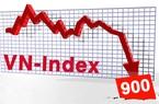 """Cổ phiếu ngân hàng nỗ lực, VN-Index vẫn """"thủng"""" mốc 900 điểm"""
