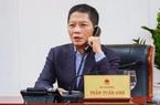 Bộ trưởng Trần Tuấn Anh điện đàm với Bí thư Quảng Tây ứng phó dịch Covid-19