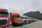 """Còn gần 1.300 xe hàng """"nằm chờ"""" tại cửa khẩu đợi xuất sang Trung Quốc"""