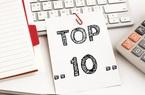Top 10 cổ phiếu tăng/giảm mạnh nhất tuần: Nhóm ngân hàng, bảo hiểm, chứng khoán trượt dốc