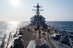 Tàu chiến Mỹ đi qua eo biển Đài Loan và tín hiệu với Trung Quốc
