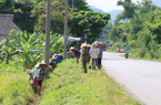 Kim Bôi huy động sức dân xây dựng nông thôn mới