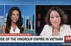 Nóng: Hàng triệu khán giả toàn cầu ấn tượng với câu chuyện nữ tướng Lê Thị Thu Thuỷ chia sẻ trên sóng CNN của Mỹ