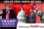 Bầu cử Tổng thống Mỹ 2020: Nhà cái đặt cược vào Joe Biden, nhưng Trung Quốc bất ngờ ủng hộ Trump?