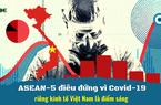 5 nền kinh tế lớn nhất ASEAN ngấm đòn Covid-19, riêng kinh tế Việt Nam là điểm sáng