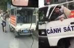 Công an phường mặc quần đùi, áo cộc đi xử lý bán hàng rong ở Hà Nội