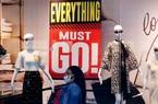 Các hãng bán lẻ Mỹ loay hoay với núi hàng tồn sau phá sản