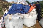 Chuyển chở về nơi sản xuất 60 tấn chất thải đổ trộm vào Thanh Hóa